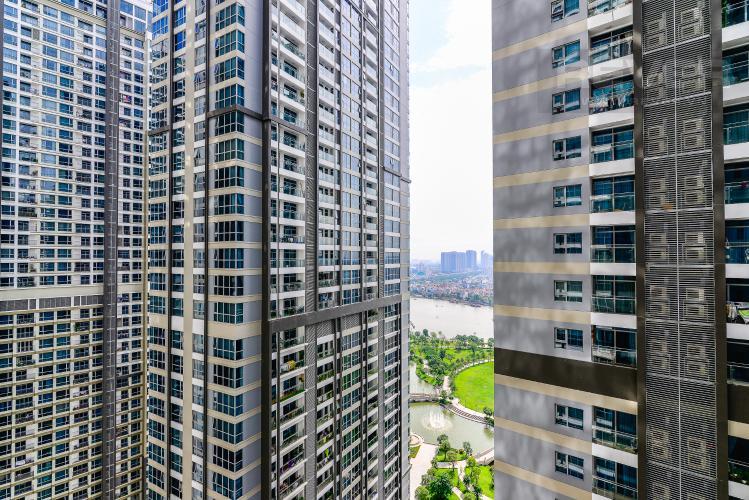 View Căn hộ Vinhomes Central Park 2 phòng ngủ tầng cao P6 đầy đủ tiện nghi