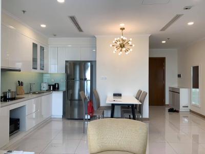 Cho thuê căn hộ Vinhomes Central Park diện tích 80.8m2 - 2 phòng ngủ, đầy đủ nội thất