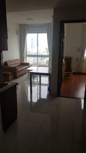 Phòng khách Central Plaza, Tân Bình Căn hộ Central Plaza hướng Tây, view thành phố sầm uất.