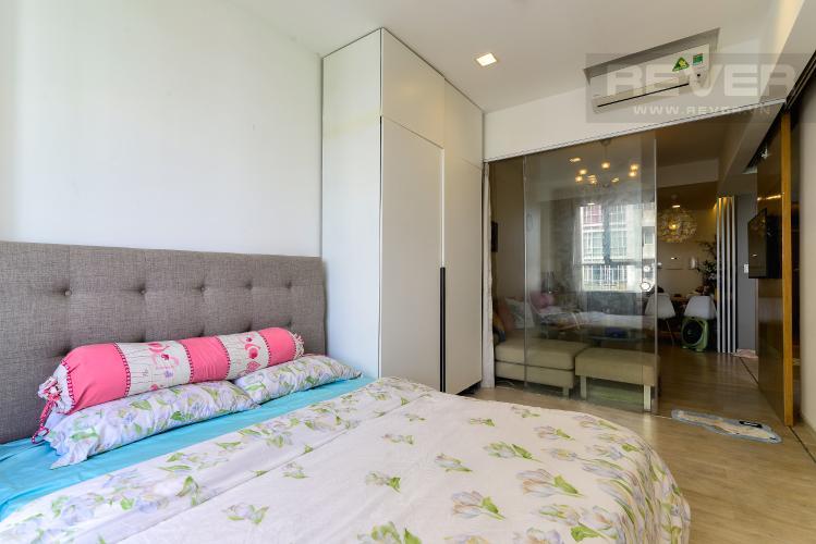 Phòng Ngủ Bán căn hộ Lexington Residence 1PN tầng trung, đầy đủ nội thất, view nội khu và Landmark 81