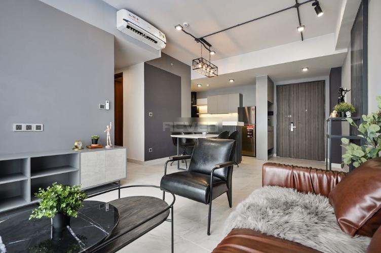 Căn hộ tầng cao Phú Mỹ Hưng Midtown đầy đủ nội thất.