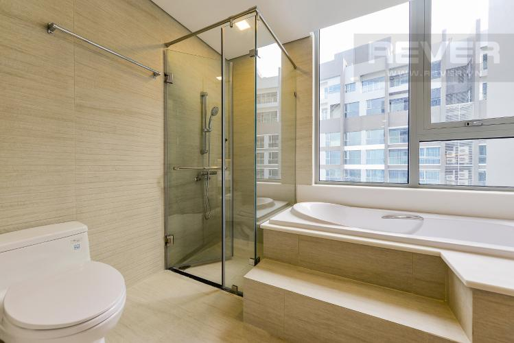 Phòng tắm 2 Căn hộ Vinhomes Central Park 3 phòng ngủ tầng cao P5 view sông