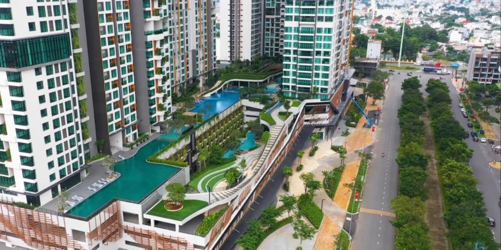 VIEW  căn hộ Feliz En Vista Căn hộ Feliz En Vista tầng trung, view nội khu, đầy đủ nội thất.