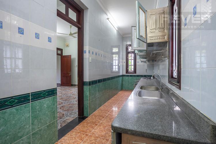 Khu Vực Bếp Nhà phố 4 phòng ngủ đường Số 2 Quận 2 nội thất đầy đủ
