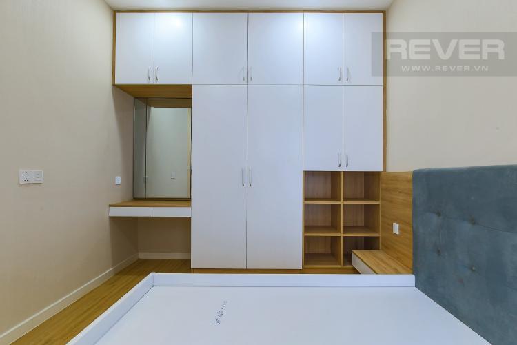 Phòng Ngủ 1 Cho thuê căn hộ Masteri Millennium tầng trung, 2PN, đầy đủ nội thất