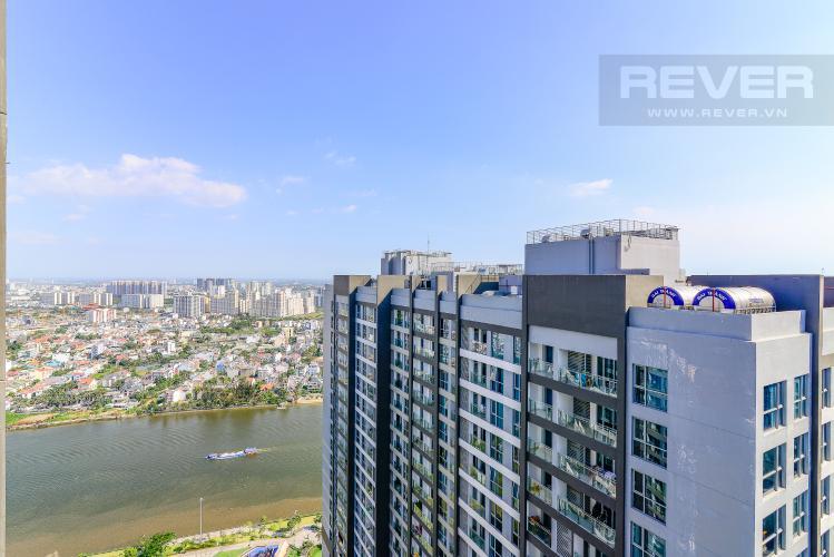 View Cho thuê căn hộ Vinhomes Central Park tầng cao, 3PN đầy đủ nội thất, tiện nghi, view sông thoáng mát
