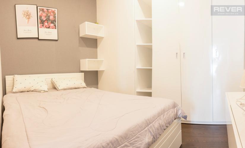 Phòng Ngủ 2 Bán căn hộ The Tresor 2PN, tầng cao, diện tích 57m2, đầy đủ nội thất