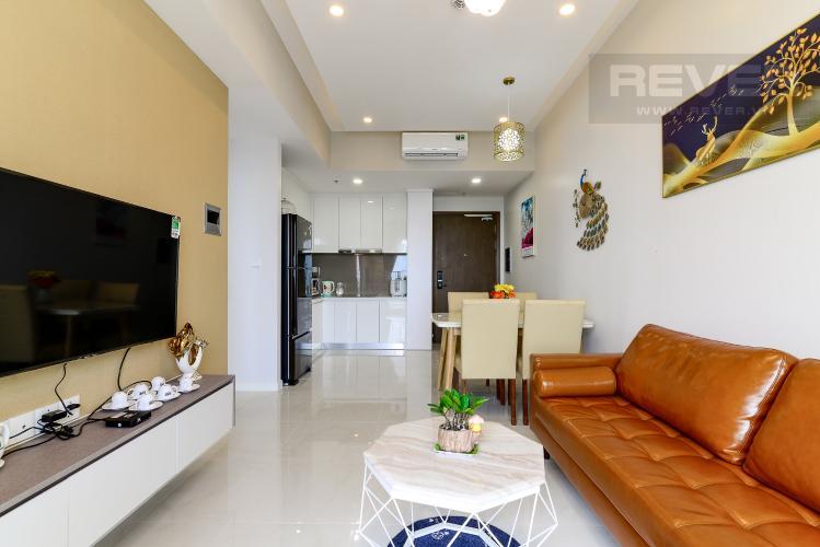 Phòng Khách Bán căn hộ Masteri An Phú 2PN, tháp B, đầy đủ nội thất, view sông thoáng đãng