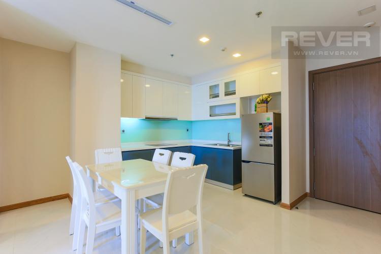 Nhà bếp Căn hộ Vinhomes Central Park 2 phòng ngủ, tầng cao P6, đầy đủ nội thất