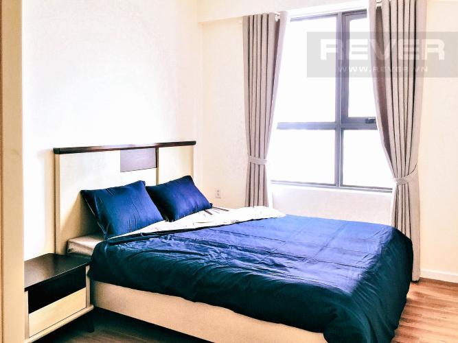 Phòng Ngủ 1 Cho thuê căn hộ M-One Nam Sài Gòn 2PN, tầng trung, đầy đủ nội thất, view hồ bơi nội khu