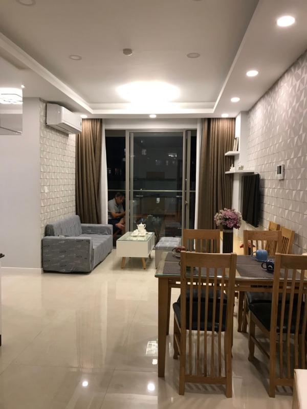 1 Bán căn hộ Masteri Millennium 2PN, block B, diện tích 78m2, đầy đủ nội thất, view thành phố