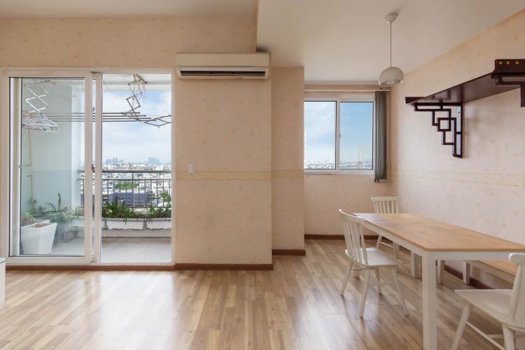 Bán căn hộ V-Star, phường Phú Thuận, quận 7, tầng cao, diện tích 116.23m2 - 3 phòng ngủ, ban công hướng Bắc.