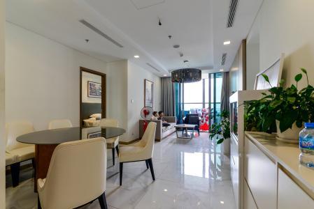 Bán hoặc cho thuê căn hộ Vinhomes Central Park 3PN, tháp Landmark 81, đầy đủ nội thất, view sông Sài Gòn