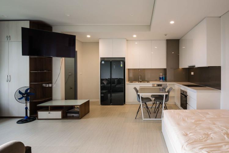 Phòng Khách Bán hoặc cho thuê căn hộ Diamond Island - Đảo Kim Cương 3PN, đầy đủ nội thất, view sông và Landmark 81
