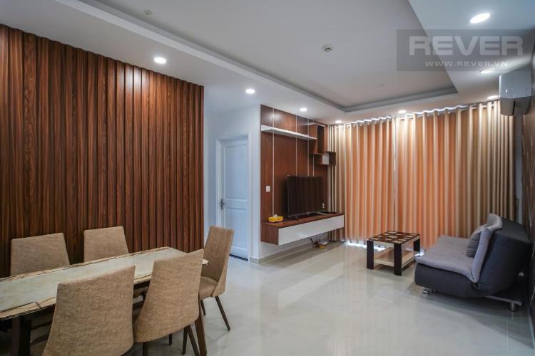Cho thuê căn hộ Saigon Mia 2PN, diện tích 66m2, đầy đủ nội thất, ban công hướng Đông thoáng mát