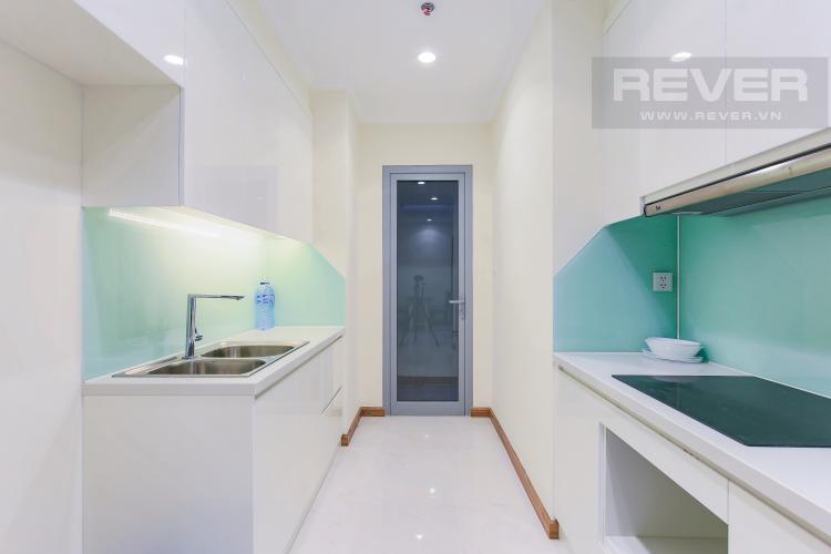Phòng Bếp Căn hộ Vinhomes Central Park 3 phòng ngủ, tầng trung L3, nội thất đầy đủ