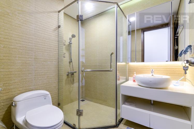 Phòng Tắm 2 Cho thuê căn hộ Vinhomes Central Park tầng trung tháp Park 5, 2PN 2WC, đầy đủ nội thất