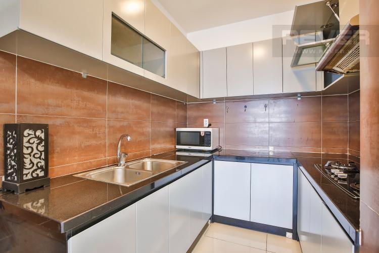 Bếp Căn hộ Galaxy 9 tầng cao 3 phòng ngủ nội thất đầy đủ