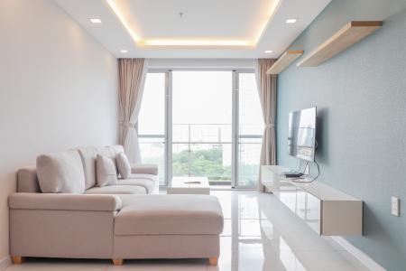 Cho thuê căn hộ Scenic Valley 3PN, tầng thấp, block C, đầy đủ nội thất, view sông thoáng đãng
