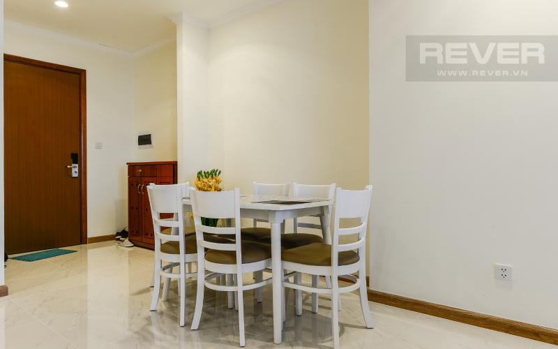Bàn ăn Căn hộ Vinhomes Central Park 3 phòng ngủ tầng cao L1 nội thất đầy đủ