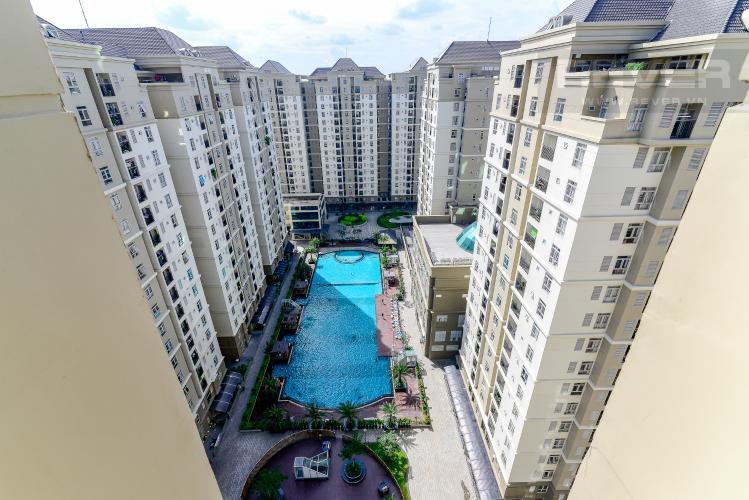 View Bán căn hộ penthouse The Art 2PN, diện tích 100m2, có sân vườn, view hồ bơi
