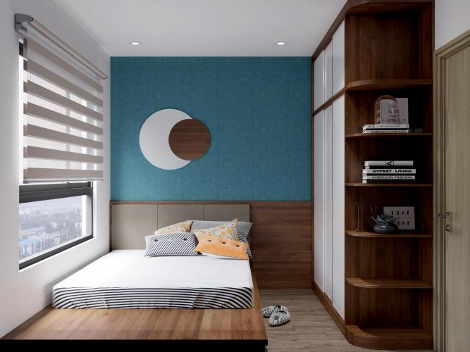 Phòng ngủ Vinhomes Grand Park Quận 9 Căn hộ Vinhomes Grand Park view nội khu, đầy đủ nội thất.