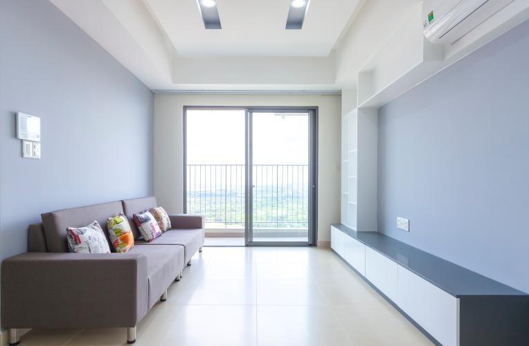 Phòng khách Căn hộ Masteri Thảo Điền tầng cao T4B 3 phòng ngủ, nội thất tinh tế