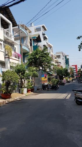 Đường hẻm nhà phố Quận Gò Vấp Nhà phố hướng Đông 1 trệt 2 lầu có sân thượng, sổ hồng đầy đủ.