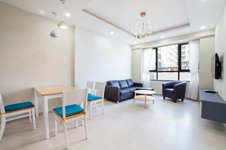 Căn hộ The Gold View 2 phòng ngủ tầng cao A1 đầy đủ nội thất