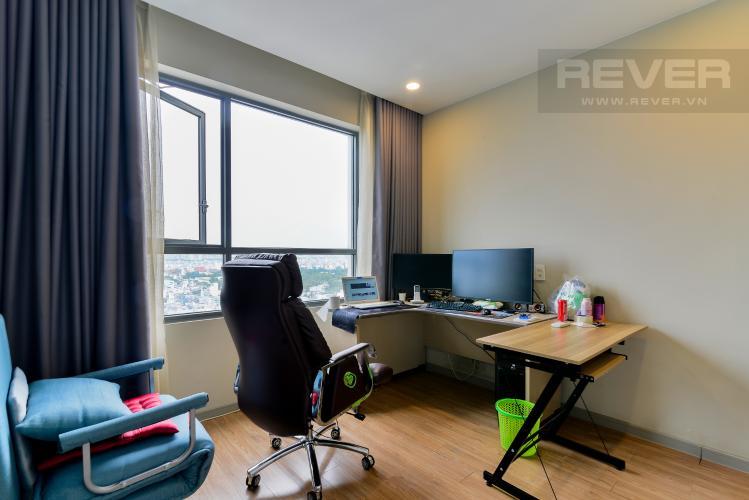Phòng Làm Việc Bán căn hộ The Gold View 1PN, tháp A, nội thất cơ bản, view kênh Bến Nghé
