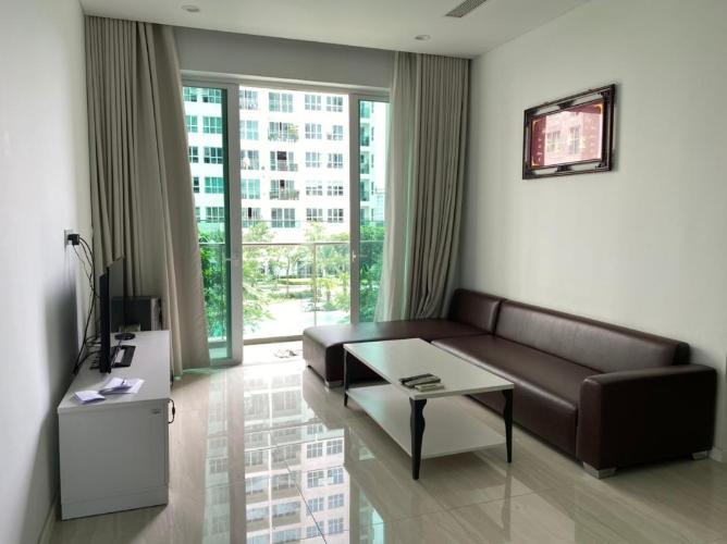 Căn hộ Sadora Apartment view nội khu, đầy đủ nội thất.