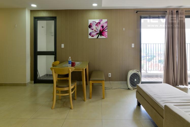 Phòng Ăn Cho thuê căn hộ Masteri Thảo Điền 2PN, tầng thấp, tháp T4, đầy đủ nội thất