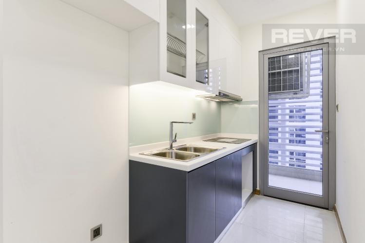 Nhà Bếp Căn hộ Vinhomes Central Park 2 phòng ngủ nằm ở tầng thấp P7 view hồ bơi