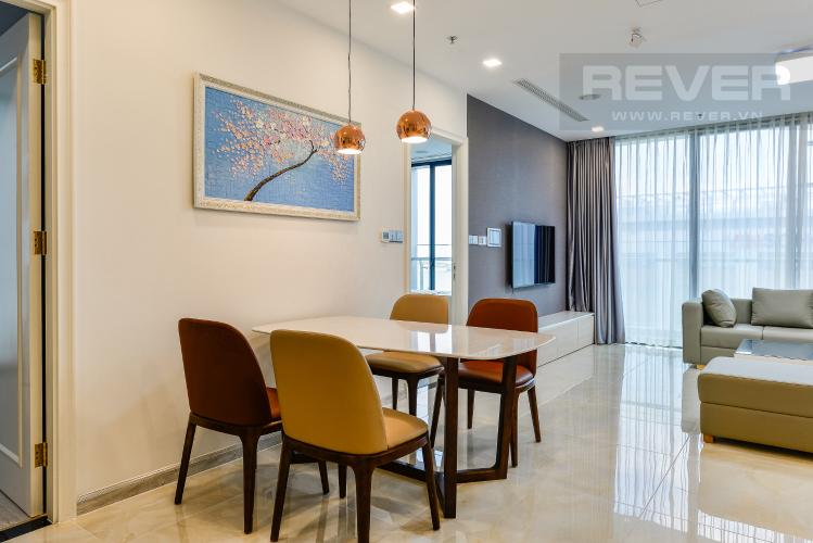 Bàn ăn Cho thuê căn hộ Vinhomes Golden River tầng thấp, 3PN, đầy đủ nội thất