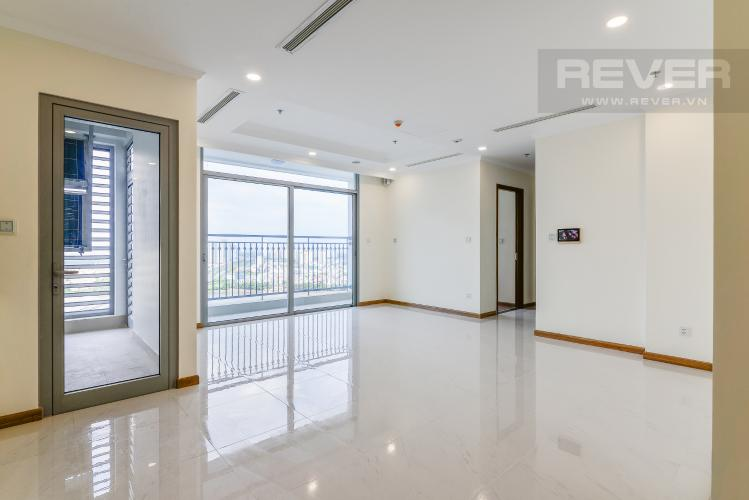 Phòng Khách Căn hộ Vinhomes Central Park 2 phòng ngủ tầng cao L6 view sông