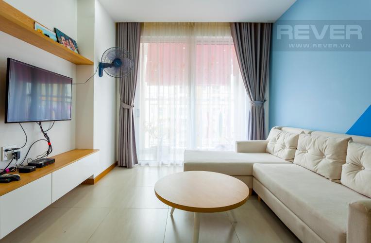 Phòng Khách Căn hộ Tropic Garden 2 phòng ngủ tầng trung, view nội khu