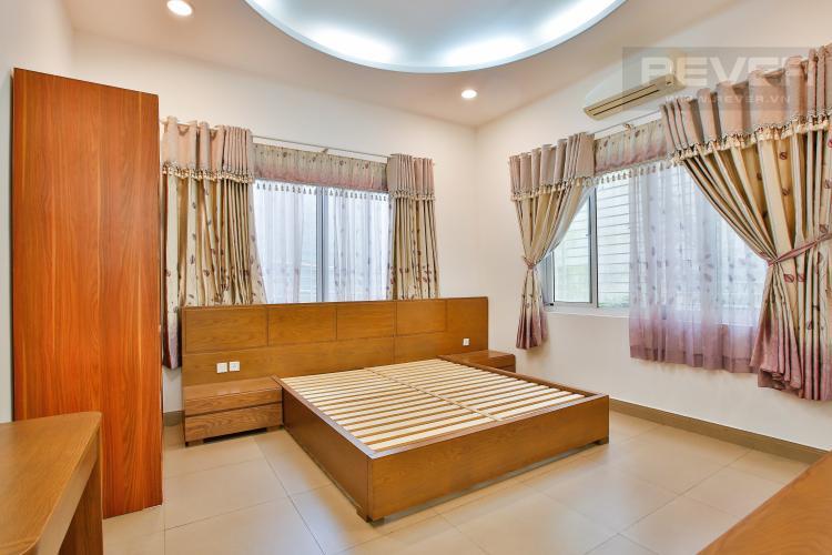 Phòng Ngủ 4 Cho thuê biệt thự khu Thảo Điền 2 tầng, 4PN, đầy đủ nội thất
