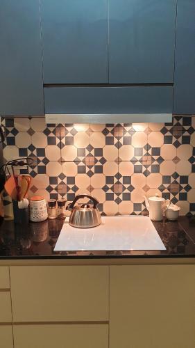 Phòng bếp căn hộ Richstar, Tân Phú Căn hộ Richstar ban công hướng Đông bàn giao nội thất đầy đủ.
