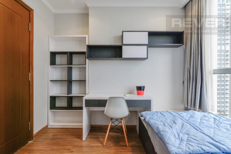 Phòng Ngủ 3 Căn hộ Vinhomes Central Park 3PN đầy đủ nội thất, có thể dọn vào ở ngay
