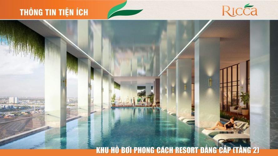 Tiện ích khu căn hộ Ricca Bán căn hộ Ricca 1PN+1, tầng 15, không nội thất, chưa bàn giao