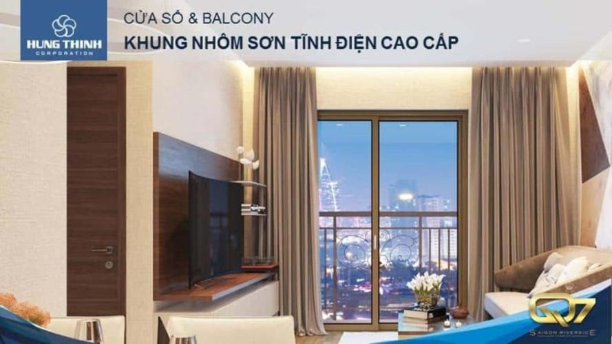 Bán căn hộ Q7 Saigon Riverside 2PN, diện tích 66m2, nội thất cơ bản, view sông và công viên