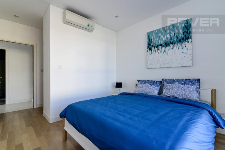 Phòng Ngủ 1 Cho thuê căn hộ City Garden 2PN 2WC, đầy đủ nội thất, view sông
