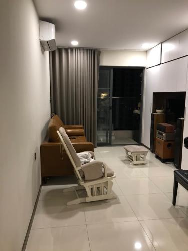 Phòng khách căn hộ De Capella , Quận 2 Căn hộ tầng 8 chung cư De Capella view nội khu yên tĩnh, nội thất cơ bản.