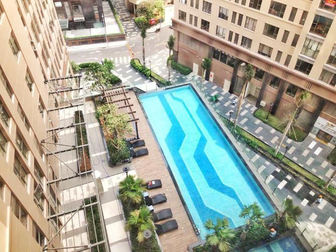 Tiện ích Saigon Royal Residences Officetel Saigon Royal tầng 04 nội thất cơ bản, view thành phố mát