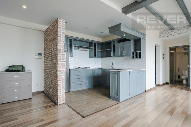 Phòng Bếp và Lobby Bán căn hộ Grand View Quận 7 tầng thấp 2PN đầy đủ nội thất