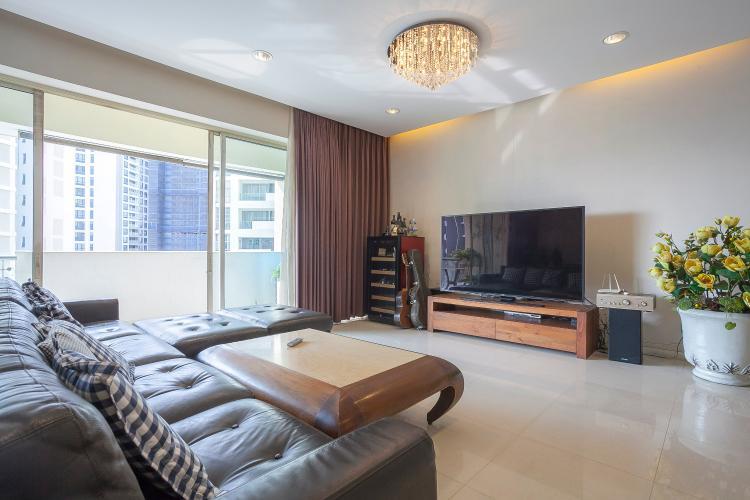 Căn hộ The Estella Residence 3 phòng ngủ tầng trung 1A view nội khu