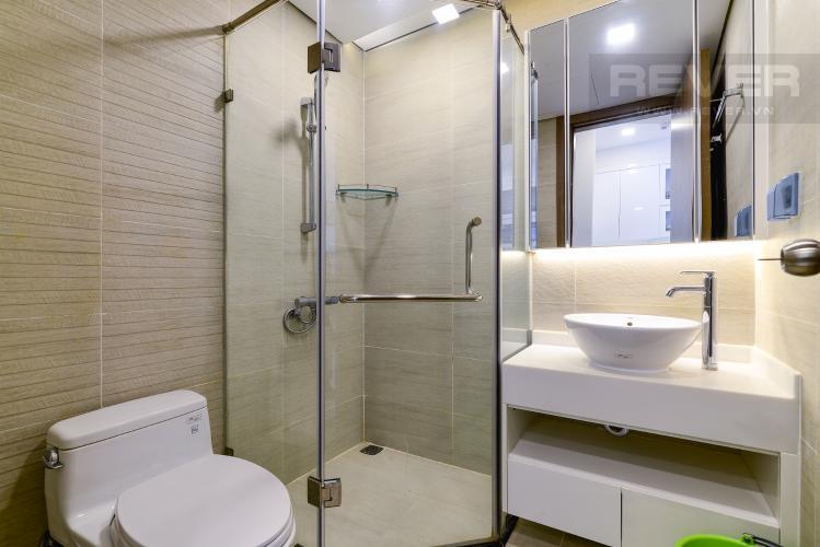 Phòng Tắm 2 Bán và cho thuê căn hộ Vinhomes Central Park 2 phòng ngủ tầng cao tháp Park 1, view sông mát mẻ