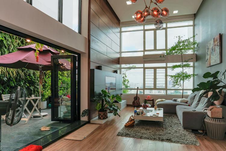 Căn hộ Phú Hoàng Anh tầng cao, tháp B, full nội thất
