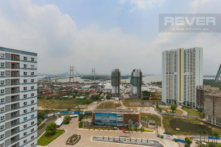 View Căn hộ Jamona City 2 phòng ngủ tầng cao M4 đầy đủ nội thất