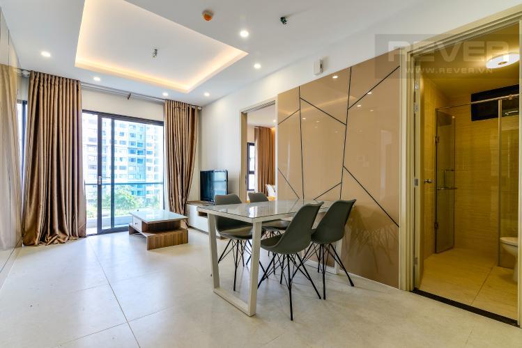 Phòng Khách Bán căn hộ New City Thủ Thiêm 2PN 2WC, đầy đủ nội thất, view hồ bơi nội khu
